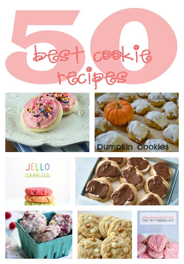 50 Best Cookie Recipes | I Heart Nap Time - How to Crafts, Tutorials, DIY, Homemaker