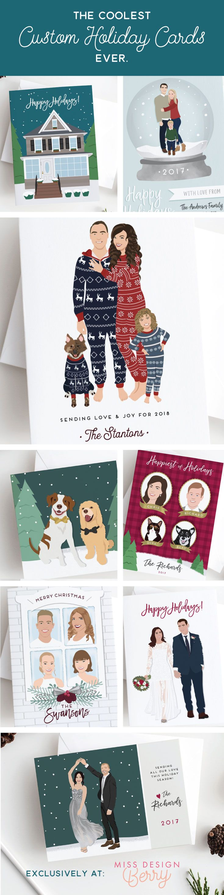 229 best Christmas Cards & Wrap images on Pinterest