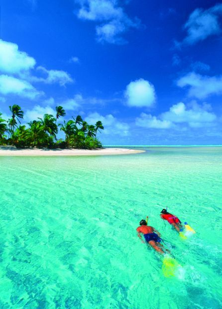 """Aitutaki, Cook Islands (If you remember, """"Aitu"""" was a tribe name on Survivor: Cook Islands)"""