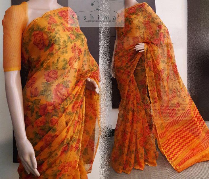 Code:2606170 - Price INR:850/- , Printed Kota Saree.