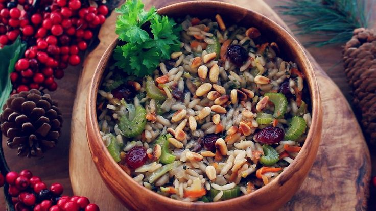 "HOLIDAY ""STUFFING INSPIRED"" RISOTTO (GLUTEN FREE)"