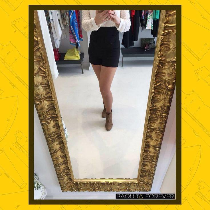 Shorts de tiro alto súper favorecedores de Hanny Deep en #PaquitaForever
