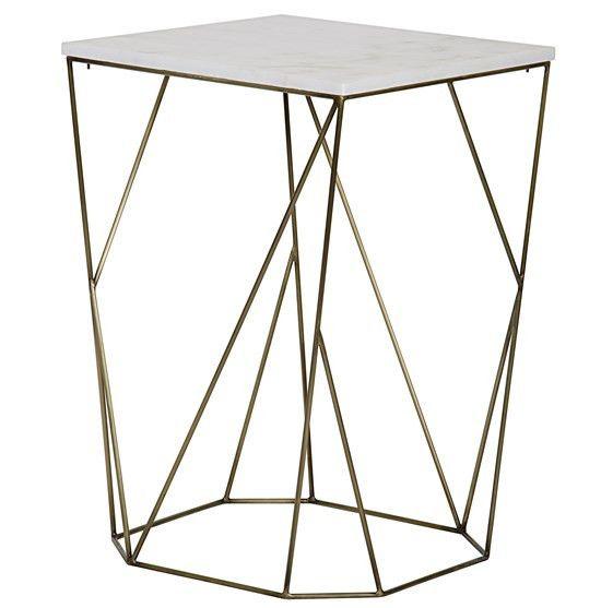 Bast Side table tall