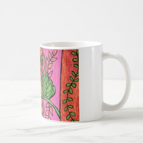 Boho Flower Mug #coffee #mug #mugs #muglove #coffeetime #coffeemug #gifts #style #tea
