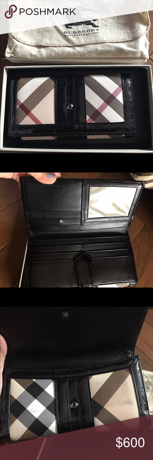 Authentic Burberry wallet and bag. Wallet is in very good condition bag is good condition. I paid $600 for the wallet and the bag was store display got it for $900. Would love to sell as package deal for $600. I got more pictures if needed Burberry Bags Wallets