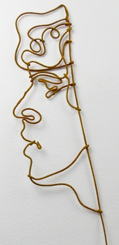 One Body, A wire based Installation by joel armstrong, via Behance