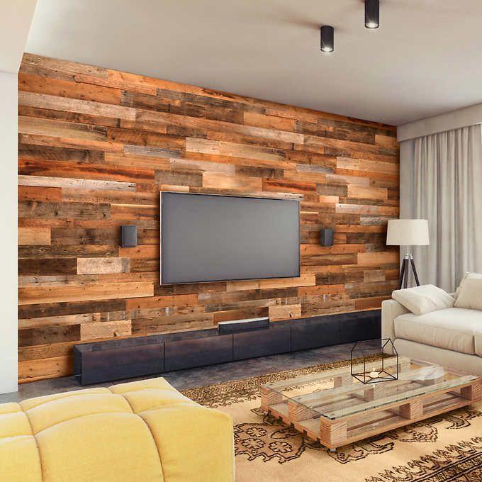 Barn Wall Reclaimed Canadian Barn Wood Planks Decoracion De Casas Modernas Diseno De Pared De Madera Decoraciones De Casa