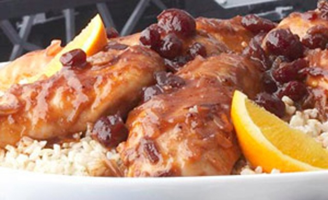 This orange-infused chicken works well in the oven but it is also a delightful potjie-kos meal to which you can add many ingredients to expand on the basic recipe.