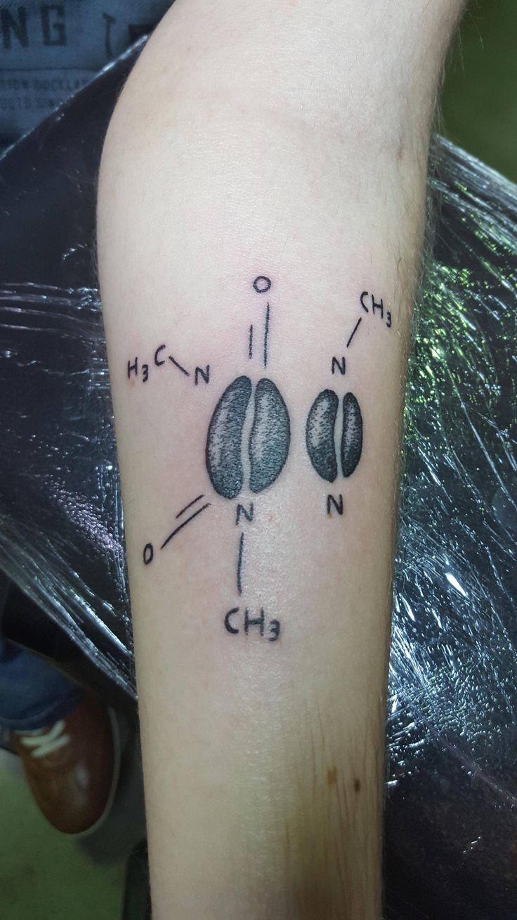 1000 ideas about molecule tattoo on pinterest tattoos for Caffeine molecule tattoo