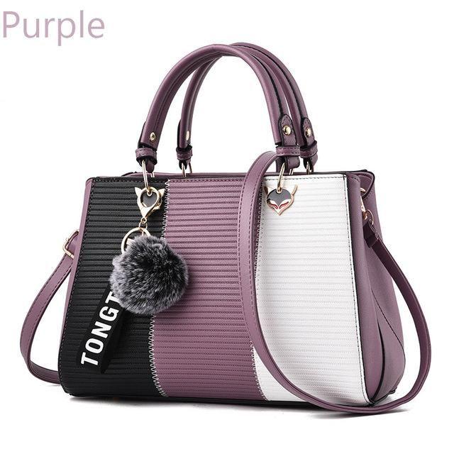 d15861912f9 ZMQN Luxury Bags For Women Handbag 2018 Patchwork Women Bag Leather ...