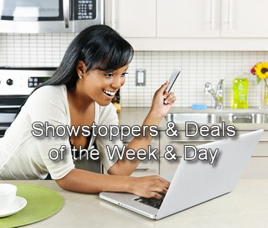 Deals of the Day, Deals of the week , Showstoppers and other last minute clearance and overstock sales from namebrand stores Canadians know and trust here's the link http://www.onlineshoppingmallcanada.ca/miscellaneous-deals-of-the-day