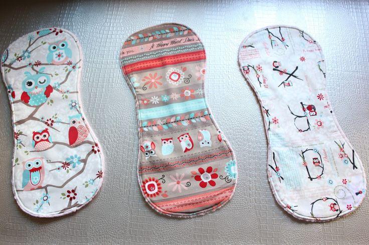 Diy c mo hacer toallas de eructar para beb con tela - Como hacer un cambiador para bebes ...
