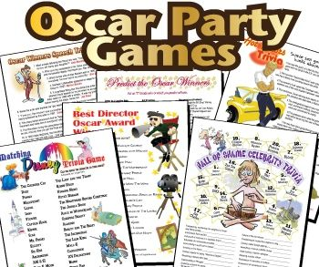 Susie QT pies Scraps of Life: Oscar Party Games and Red Carpet Party recipes!