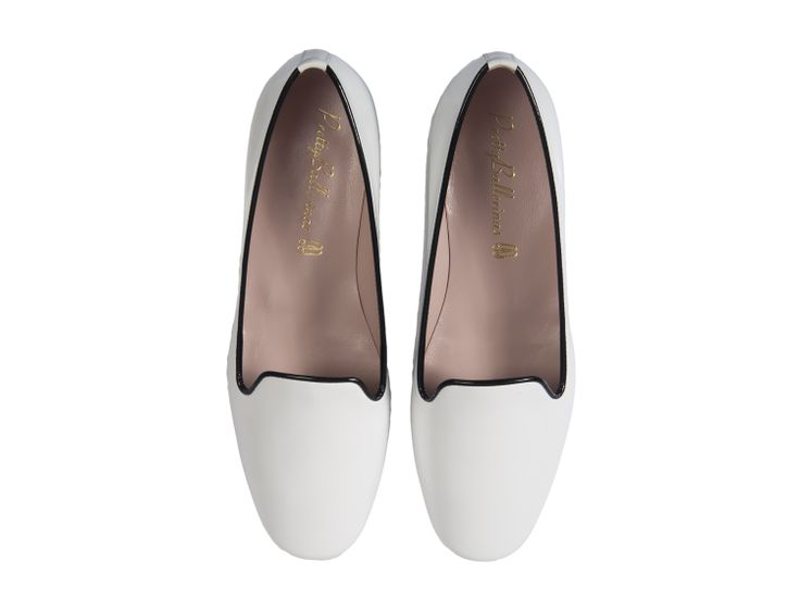 Pretty Ballerinas White Loafers  http://styleintro.com/boutique,index,buty-plaskie,142,0,0,0,0,0,0