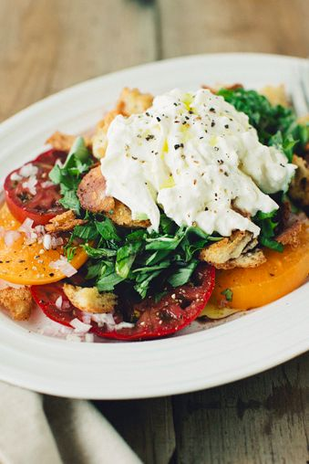 A Simple Tomato & Burrata Salad | Sprouted Kitchen