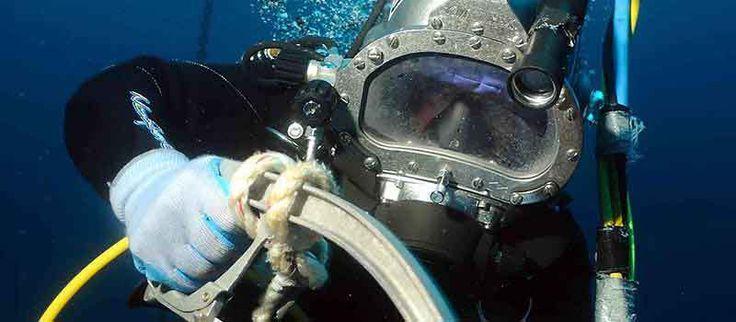 How to a hyperbaric welder underwater welding