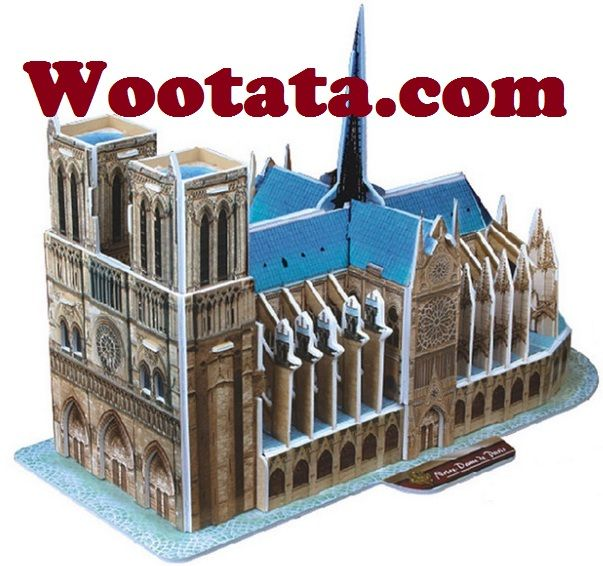 Mainan 3d Puzzle Notre Dame De Paris