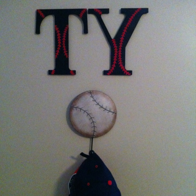 Baseball RoomTys New Decor