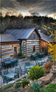 Restaurant, Inn and Spa at Cedar Falls - Hocking Hills, Ohio.  (A favorite of ours!!)