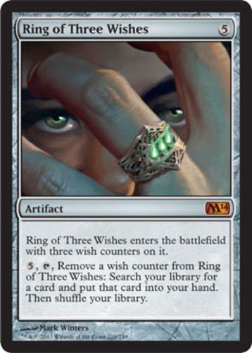 mtg-Magic-2014-1x-Ring-of-Three-Wishes-x1-Magic-the-Gathering-mythic-rare-card