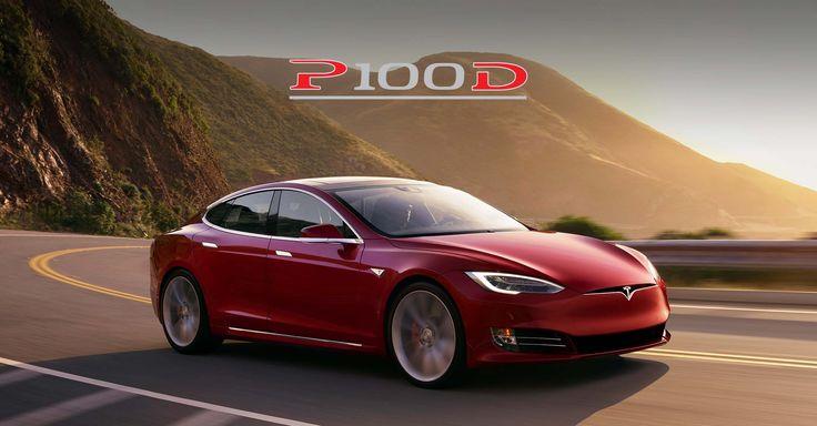 Tesla Model S P100D : 2,5 secondes et 600km d'autonomie