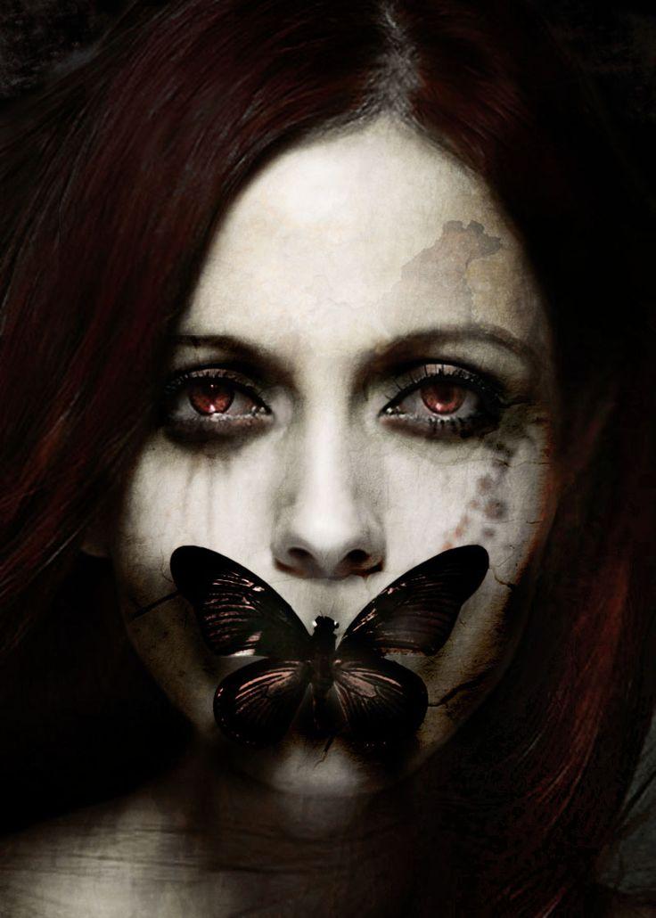"Halloween makeup | Make Up For Halloween…..""Dark Fantasy"" Video Tutorial"