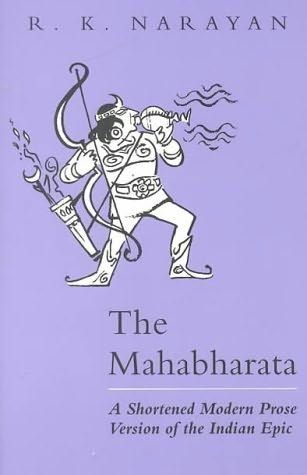 33 best rk narayan book covers images on pinterest book covers book cover of the mahabharata fandeluxe Choice Image