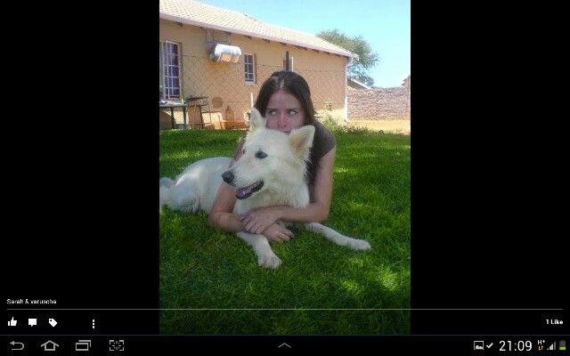 My baby girl and varuscha
