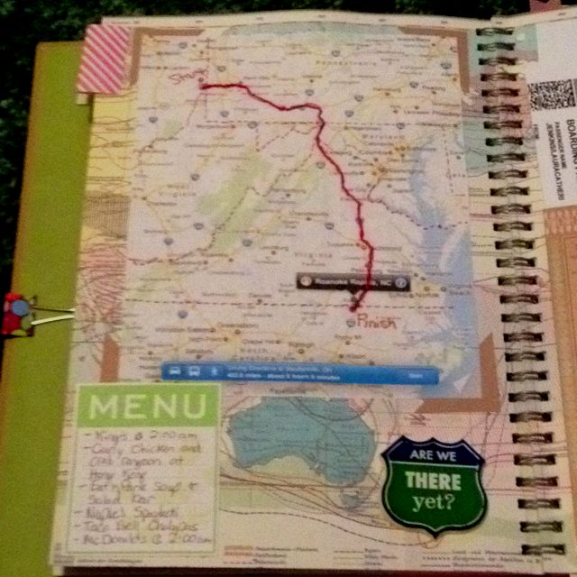 Trip to Ohio. Smash book... must do this for my adventures!