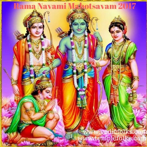 Rama Navami Mahotsavam helps to improve brain power and intelligence.It Keeps one stable during times of turbulence.It brings good luck and wealth.