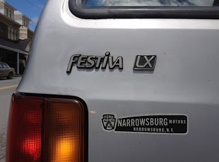 1989 Ford Festiva LX Three-door Hatchback