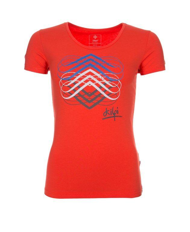 Women's T-shirt KILPI - GENA - orange