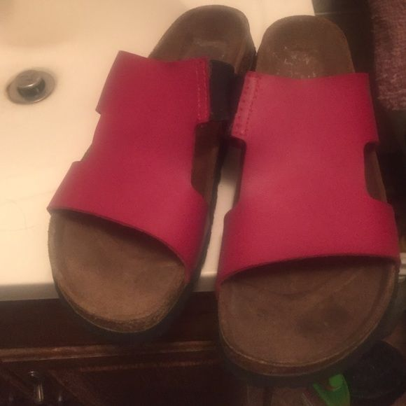 Betula sandals They are pre owned in great condition . Worn once!! Birkenstock Shoes Mules & Clogs
