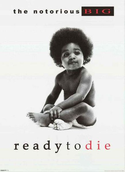 Notorious BIG Ready to Die Album Cover Poster 24x36 – BananaRoad