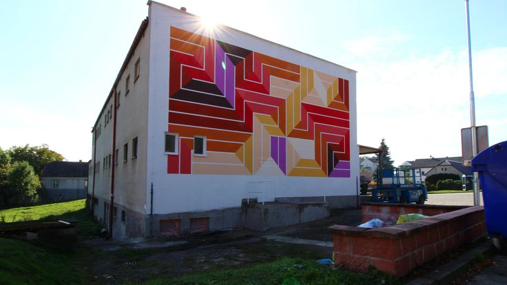 Street art Chrášťany 4K
