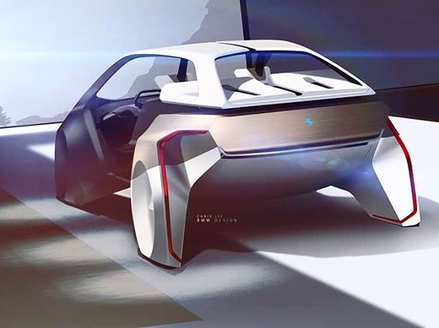 BMW i Inside Future.official sketch by Chriss Lee #BMWinsidefuture #BMWCES2017