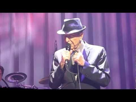 Leonard Cohen - Anyhow (with cigarette story) - The Louisville Palace - 30-03-2013 - YouTube