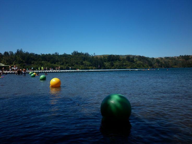 balneario laguna chica de san pedro de la paz en el bio bio