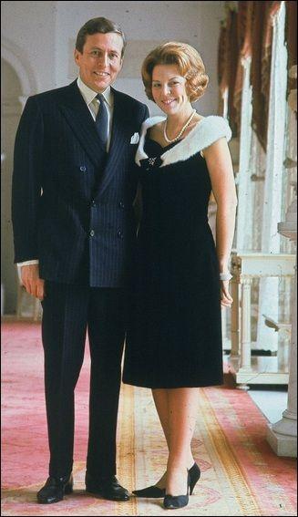 Princess Beatrix en Prince Claus