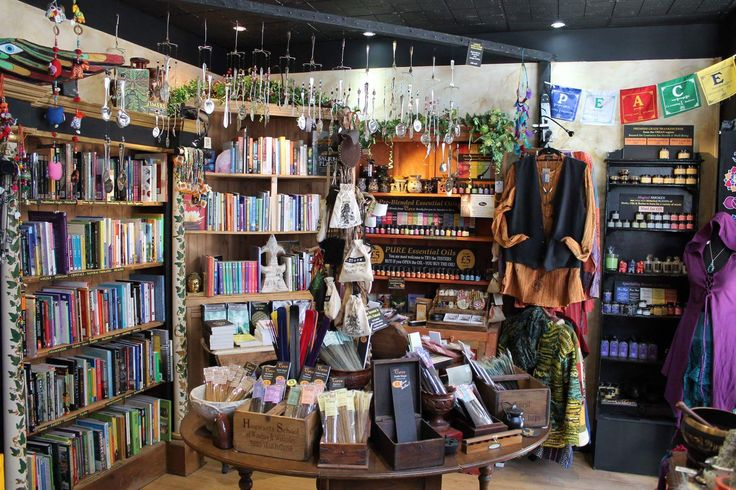 The Cave is an amazing esoteric/ New Age/ Pagan, Wiccan Shop in Shrewsbury. All sorts of goodies await you here including tarot cards, Magick Wands, essential oils, crystals, statuettes, clothing, books, candles and much much more.
