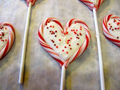 Valentine's Day Treats - something to do with those leftover candy canes