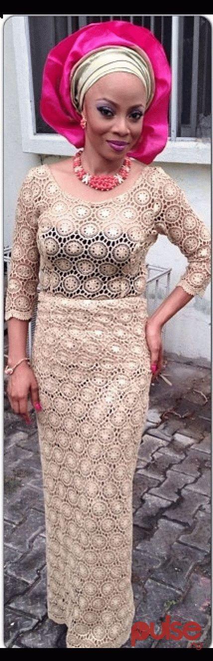 Tiwa Makinwa is always on point when on Nigerian traditional occasion wear ~Latest African Fashion, African Prints, African fashion styles, African clothing, Nigerian style, Ghanaian fashion, African women dresses,