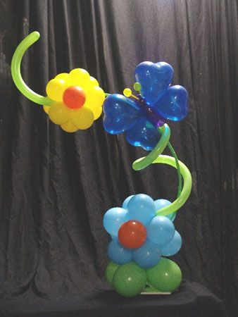stuffed balloon centerpieces - Google Search