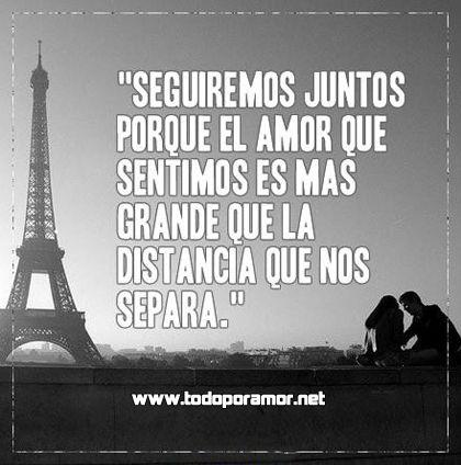Amor a la distancia - www.todoporamor.net