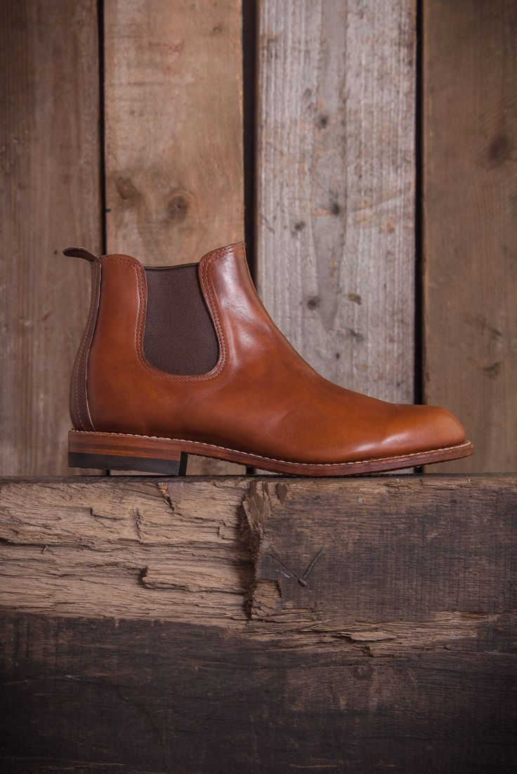 Wolverine Camden Chelsea Boots - Tan Leather - Boots - The Priory - 1