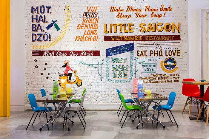 Little Saigon Restaurant E11 designed by Avocado Sweets