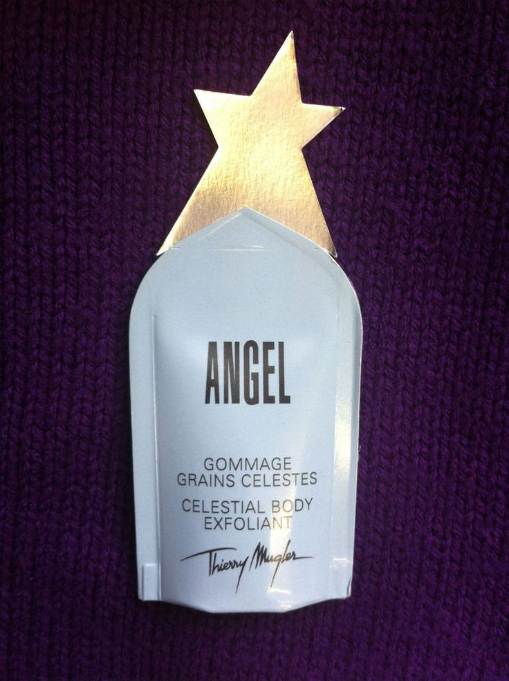 Thierry Mugler ANGEL Celestial Body Exfoliant Gel. Convenient 10ml Travel size.