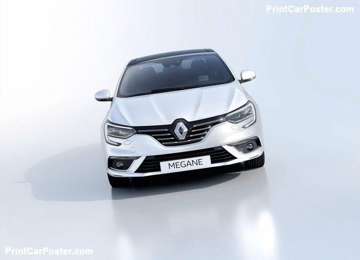 Renault Megane Sedan 2017 poster, #poster, #mousepad