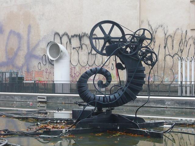 Jean Tinguely sculpture in the Igor Stravinsky fountain. by crystalseas, via Flickr: Flickr, Photos Shared