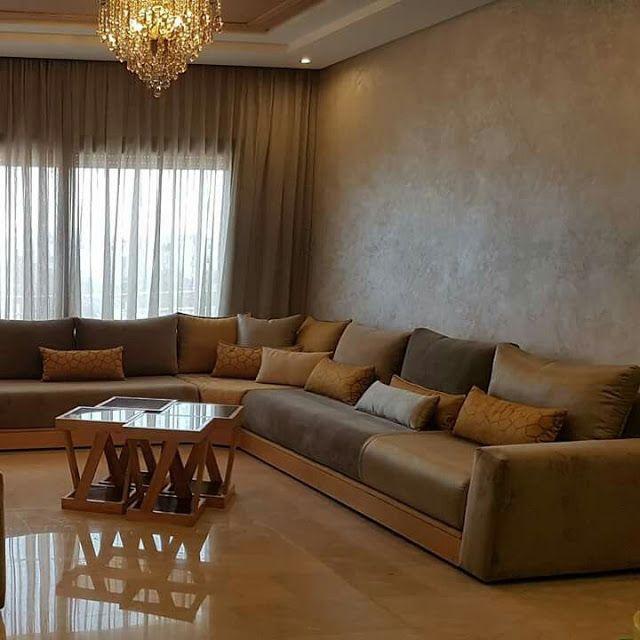 ديكورات صباغة الخيال بلاتينيا داخل المنزل Corner Sofa Design Beige Living Rooms Moroccan Living Room